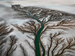 Colorado River Delta #2, Near San Felipe, Baja, Mexico 2011. ©Edward Burtynsky, courtesy Nicholas Metivier Gallery, Toronto / Howard Greenberg & Bryce Wolkowitz, New York